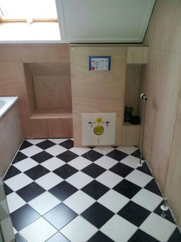 klassieke diagonale vloer tegelzetbedrijf dijkstra